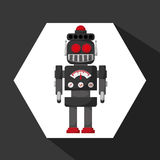 Robot and technology design Stock Images