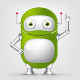Robot TECHO Royalty Free Stock Image