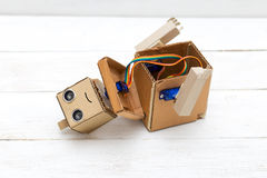 Robot - ten przyszłość technologia Rozmontowywający robot Zdjęcie Royalty Free