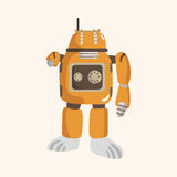 Robot theme elements vector,eps Stock Photography