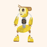 Robot theme elements vector,eps. Vector illustration file Stock Photography