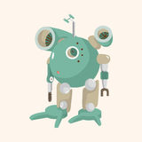 Robot theme elements vector,eps Royalty Free Stock Photography