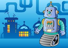 Robot theme image 1 Royalty Free Stock Photo