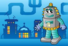 Robot theme image 3 Royalty Free Stock Images