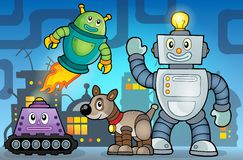 Robot theme image 6 Royalty Free Stock Photos