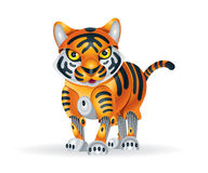 Robot tiger cub Royalty Free Stock Photo