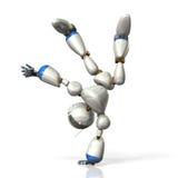 Robot to dance Stock Image