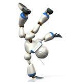 Robot to dance Stock Photo