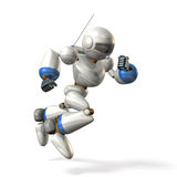Robot to dash Stock Image