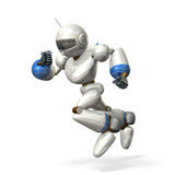 Robot to dash Stock Images