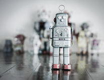 Robot toy man Stock Photography