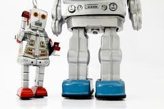Robot toys Royalty Free Stock Image