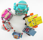 Robot toys Stock Photography