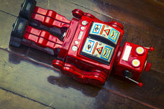 Robot toys Stock Images