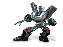 Robot transformer Stock Images