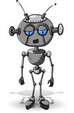Robot triste Photos libres de droits