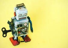 Robot triste Image libre de droits