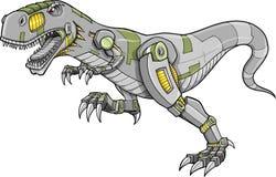 Robot Tyrannosaurus Dinosaur Vector Royalty Free Stock Image