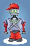 Robot urbano del fumetto Fotografia Stock Libera da Diritti