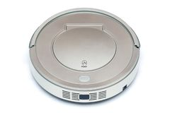 Robot vacuum cleaner royalty free stock photos
