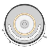 Robot vacuum cleaner 3d Royalty Free Stock Images