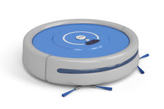 Robot vacuum cleaner Stock Photography