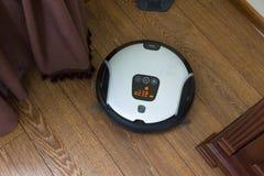 Robot vacuum cleaner Stock Image