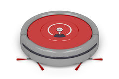 Robot vacuum cleaner Royalty Free Stock Photo