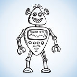 Robot. Vector drawing Stock Photography