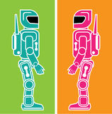 Robot vector eps vector Royalty Free Stock Images