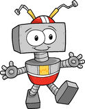 Robot Vector Illustration Stock Image
