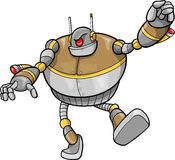 Robot Vector Illustration Stock Images