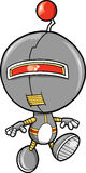 Robot Vector Illustration Royalty Free Stock Image