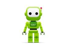 Robot vector illustration. Cartoon style Royalty Free Stock Image