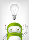 Robot verde royalty illustrazione gratis