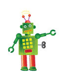 Robot verde libre illustration