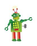 Robot vert Image stock