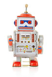 Robot vintage toy Royalty Free Stock Image