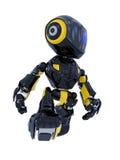 Robot walking Stock Photo