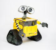 Robot Wall-E from Pixar and Disney Movie. 8 May 2014, in my studio, Povoa de Lanhoso Royalty Free Stock Photos