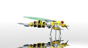 Robot wasp Stock Photo