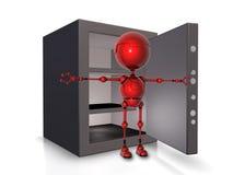 Robot watchman Royalty Free Stock Image