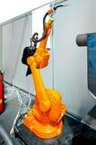 Robot welder Stock Image