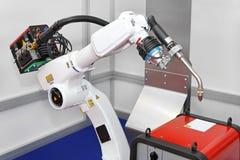Robot welding Stock Photos