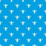 Robot on wheels pattern seamless blue. Robot on wheels pattern repeat seamless in blue color for any design. Vector geometric illustration Stock Image