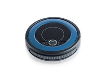 Robot wireless vacuum cleaner Royalty Free Stock Photos