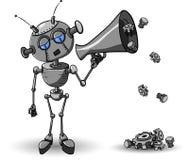 Robot With Speaker Stock Photo