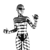 Robot woman Royalty Free Stock Photo