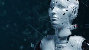 Robot woman, sci-fi woman