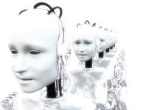 Robot Women 5 Stock Photo